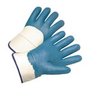 West Chester 4550 Nitrile Dipped Glove with Jersey Liner and Smooth Finish on Palm, Fingers & Knuckles - Safety Cuff
