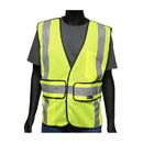 West Chester 47200 Viz-Up ANSI Type R Class 2 Three Pocket Expandable Mesh Breakaway Vest