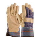 West Chester 5555 Posi-Therm Pigskin Leather Palm Glove with Fabric Back & Positherm Lining - Safety Cuff