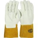 West Chester 6010 Ironcat Premium Top Grain Cowhide Leather Mig Welder's  Glove with Kevlar Stitching - Leather Gauntlet Cuff