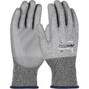 West Chester 730TGU PosiGrip Seamless Knit PolyKor Blended Glove with Polyurethane Coated Smooth Grip on Palm & Fingers
