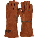 West Chester 9020-LHO Ironcat Premium Select Shoulder Split Cowhide Leather Welder's Glove with Cotton Liner and Kevlar Stitching-Left Hand Only