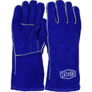 West Chester 9041 Ironcat Shoulder Split Cowhide Leather Welder's Glove with Cotton Foam Liner  and Kevlar Stitching