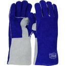 West Chester 9051 Ironcat Premium Side Split Cowhide Leather Welder's Glove with Cotton Foam Liner and Kevlar Stitching