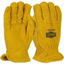 West Chester 9405 Ironcat Split Cowhide Leather Drivers Glove - Keystone Thumb