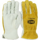 West Chester 9414 Ironcat Premium Grade Top Grain Drivers Glove with Shoulder Split Cowhide Leather Back - Keystone Thumb