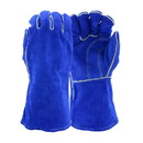 West Chester 945 Ironcat Premium Split Cowhide Leather Welder's Glove with Cotton Liner and Kevlar Stitching