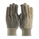 West Chester K01PDJI Knit Wrist 10oz PVC Dotted Canvas Glove - Premium - Jumbo XL