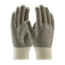West Chester K708SKBS PIP Medium Weight Seamless Knit Cotton/Polyester Glove with PVC Dotted Grip - Double-Sided