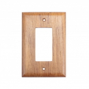Whitecap Teak Ground Fault Outlet Cover, Receptacle Plate - 60171