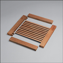 Louvered Door Top or Bottom Stile