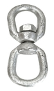 Whitecap Galvanized Eye-Eye Swivel - 3/8