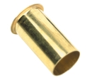 Whitecap Brass Drain Tube, 1-1/4