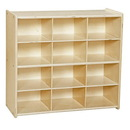 Contender C16129 Baltic Birch 12-Cubby Storage Unit w/out Tubs-RTA