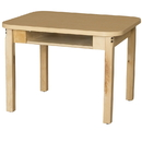 Wood Designs HPL1848DSKHPL16 Two Seat Student Desk with 16