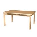 Wood Designs HPL3648DSKHPL20 Four Seat Student Desk with 20
