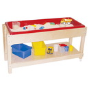 Wood Designs WD11810 Sand and Water Table with Top/Shelf , 24.00