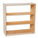 Natural Environments WD12936AC Bookshelf w/Acrylic Back - 36