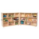 Wood Designs WD13718 X-Deep Folding Storage 38