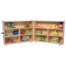 Wood Designs WD13730 Folding Versatile Storage Unit, 38