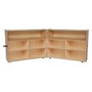 Wood Designs WD13732 Folding Versatile Storage Unit, 38