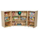 Wood Designs WD15600 3 Section Folding Storage , 38.00