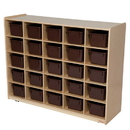 Natural Environments WD16002 25 Tray Storage with Brown Trays , 38.00