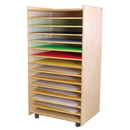 Wood Designs WD33500 Puzzle and Paper Storage Center , 48.00