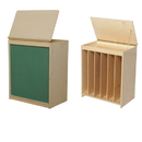 Wood Designs WD34100 Big Book Storage / Display with Chalkboard , 28.00