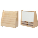 Wood Designs WD35201 Book Storage &Display with Markerboard w/(4) 3