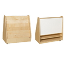Wood Designs WD35209 Book Storage &Display with Markerboard w/o Trays , 30.00
