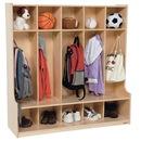 Wood Designs WD51000 5 Section Seat Locker