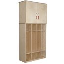 Wood Designs WD56800 Coat Locker Vertical Storage Cabinet , 75.00