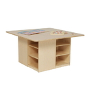 Wood Designs WD85009 Cubby Table without Trays , 20.00