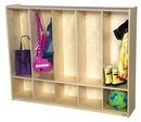 Wood Designs WD990283 Five Section Toddler Locker