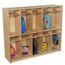 Wood Designs WD990314 10 Section Locker , 49.00