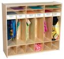 Wood Designs WD990539 Open Shelf Locker