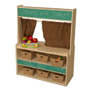 Wood Designs WD990874-718 Farmer's Market Stand with Baskets