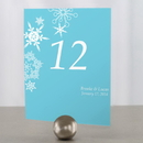 Weddingstar 1008-06 Winter Finery Table Number
