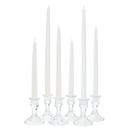 Weddingstar 1010-08 Taper Candles - Small White