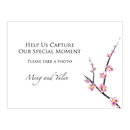 Weddingstar 1024-61 Cherry Blossom Camera Table Sign