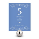 Weddingstar 1033-06 Forget Me Not Table Number