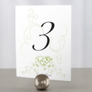 Weddingstar 1037-06 Heart Filigree Table Number