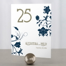 Weddingstar 1052-06 Floral Orchestra Table Number
