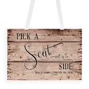Weddingstar 1140-50 Rustic Pick A Seat Directional PosterSign