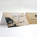 Weddingstar 1151-32 Rustic Country Place Card With Fold