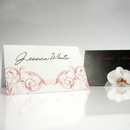 Weddingstar 1152-32 Classic Orchid Place Card With Fold