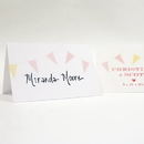 Weddingstar 1156-32 Homespun Charm Place Card With Fold