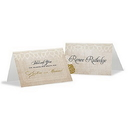Weddingstar 1165-32 Vintage Lace Place Card With Fold