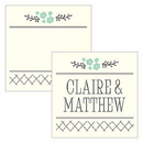 Weddingstar 1274-01 From The Heart Square Tag